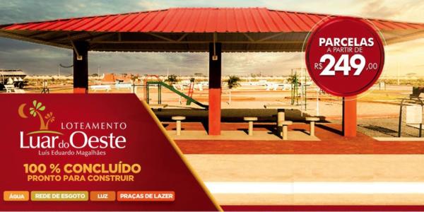 Loteamento Luar do Oeste - Lotes à venda em Luís Eduardo Magalhães