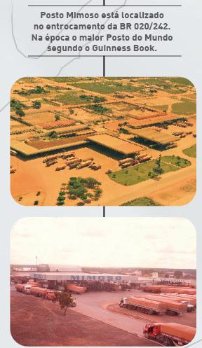 Posto Mimoso do Oeste, considerado um dos maiores postos do mundo na década de 80
