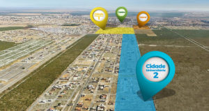 Localização do Loteamento Cidade Universitária II